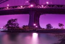 Purple Bridges / Bridges