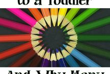Teaching Colors / Teaching Wyatt colors / by Ashley Richards Geary