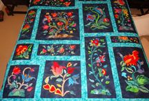 Quilts, embroidery... work I admire / A collection of quilt patterns and quilt work I like and think are beautiful