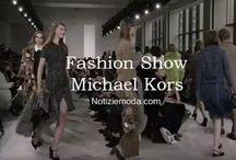 Michael Kors / Michael Kors collezione e catalogo primavera estate e autunno inverno abiti abbigliamento accessori scarpe borse sfilata donna.
