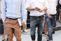 Stylish Men. Paris