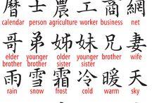 Kinesiske tegn