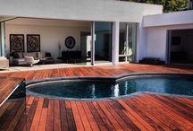 Blend of Indoor and Outdoor Living / Luxury homes blurring the lines between indoor and outdoor living.