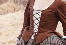 Outlander jackets: Claire