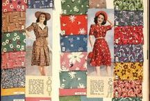 Colours of the 1940's / Colour scheme of the 40's