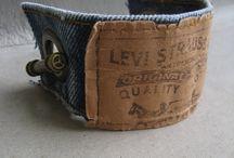 Denim / recyklace starých jeansů