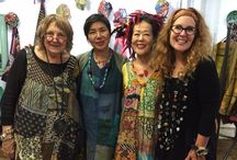 Mieko Mintz & Studio Suna, September 2016 / From a buying trip owners Bonnie & Theresa attended. Beautiful handmade pieces on their way to MIX Ann Arbor and MIX Ypsilanti