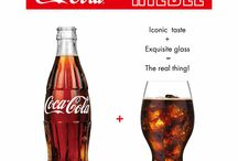 Coca-Cola + Riedel Glass  / A specific shaped glass based on a sensory workshop- Introducing the #CocaCola + #Riedel Glass!