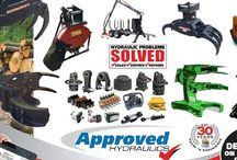 Forestry / Hydraulic forestry attachments and equipment