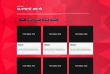 Web design - Onepage