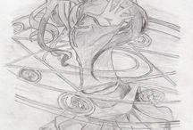 Copy of drawings / My Manga copy of drawings