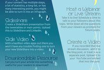 Content Marketing / Blogging