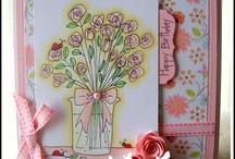 My Ladybug Crafts Ink cards