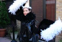 Ostrich/vulture costume ideas