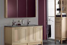 Solid oak wanities & cabinets