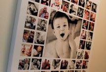 decoraçao com fotos