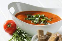 Gemüsesuppen / Soup recipes - vegetables