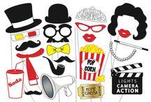 Morgan's Oscar party / Oscar themed