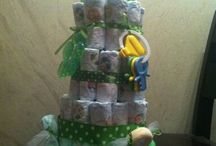 Yours Truly Gift Creations / Diaper Cakes, Housewarming Towel Cakes, New Pet baskets/Cakes