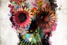 skulls the bright side / by pamelajean