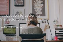 Lettering resources & inspiration