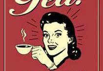 Tea, coffee and wine