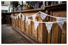 Wedding decor ideas. / Decor ideas to make your wedding something special.