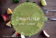 Grüne Smoothies / Rezepte für Grüne Smoothies, green smothies