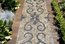 ~Along the Mosaic Garden Path~ / by Lori