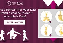 Father's Day Contest / This #fathersday gift a stunning pendant to your father, just by selecting one.