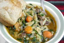 healthy . soups / by Stephanie Shifflett