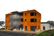 Edificio Korten srl / Progetto per la realizzazione di un edificio per uffici ed attività di servizio