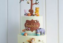 birthday cakes & cake toppers