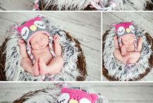 Owl Newborn Girl Photosession