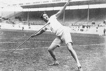 Track & Field (Friidrott) Men / Kända idrottsprofiler och guldmedaljörer vid OS