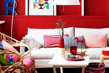 Red / Red decor ideas.