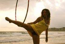 I love hula hoop