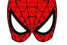 maschere super eroi