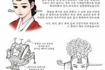 Hanbok traditional dresses