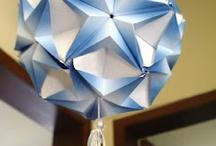 Origami - Kusadama Fun / kusudama's / by Rebekka Smith