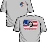 POW MIA T-Shirts / T Shirts in remembrance of POW and MIA.  See these and more at http://www.priorservice.com/powmiatshirt.html / by PriorService.com