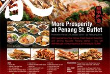 Chinese New Year Menu - Penang St. Buffet / Try traditional Chinese New Year dishes & Penang hawker favourites at our Penang themed halal buffet. http://www.gdgroup.com.sg/penang-st-buffet-menu
