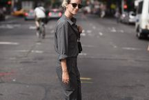 Contemporary Utility Jumpsuits
