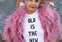 Growing cool  / Because aging is a blessing and life is only over when we die.