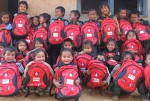Nepal - Helambu Education Livelihood Partnership (HELP) / December 2012 - An 'In Country' project but funded 1,000 SchoolBags to children at 6 schools in the Helambu district, 70 kilometers north east of Kathmandu. The project was coordinated by the HELP (Helambu Education Livelihood Project) Organisation.