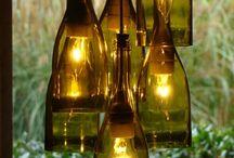 decoração de garrafas