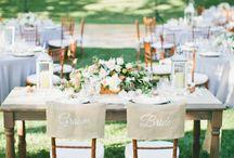 Beautiful Sweetheart tables