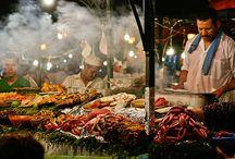 Street food/market