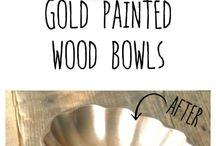 Από ξύλινα χρυσα