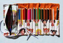 lápiceras y carteras